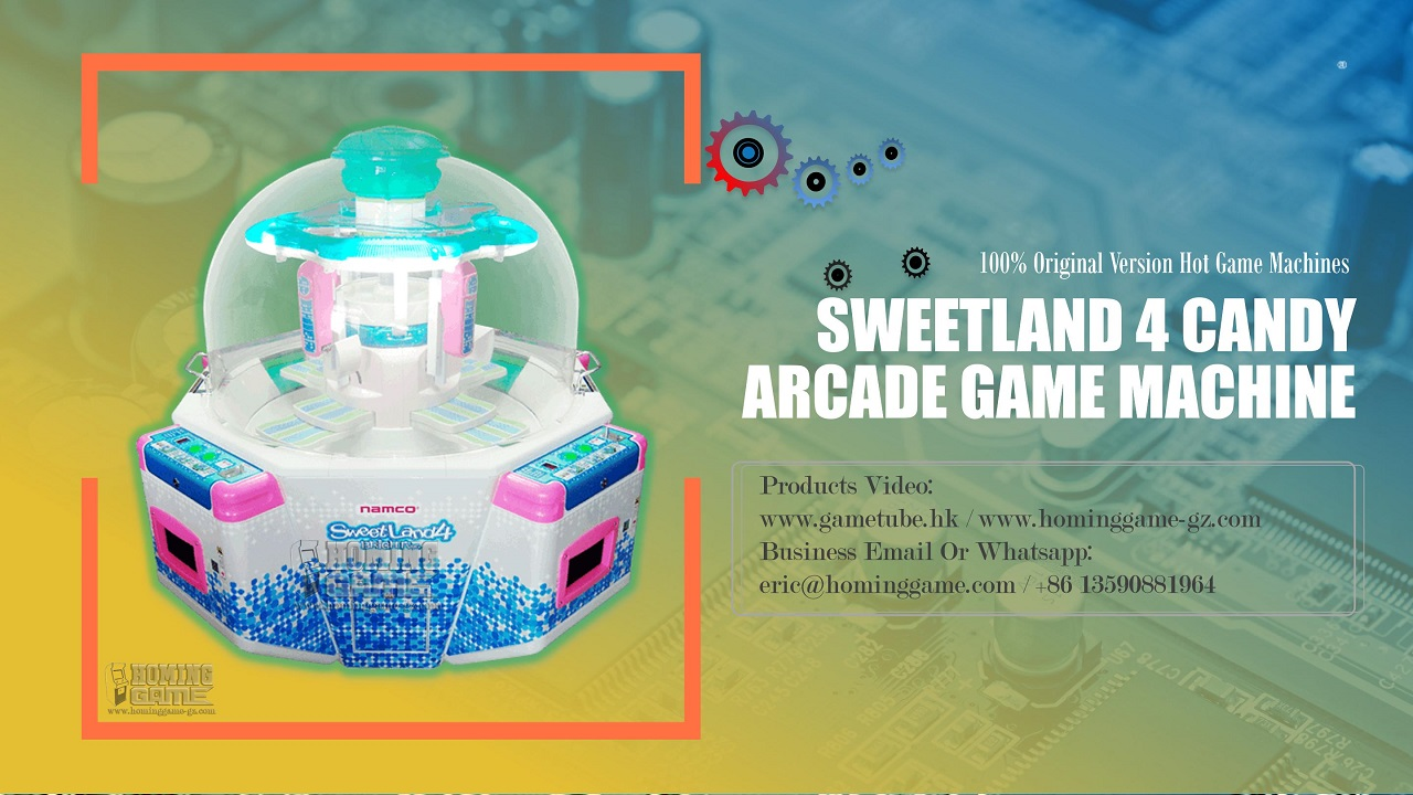 sweetland 4,sweet land 4, sweetland 4 candy,sweetland 4 game machine, quik drop,quik drop ticket game machine,super star game machine,magic arrow game machine,key master game machine,<br />
