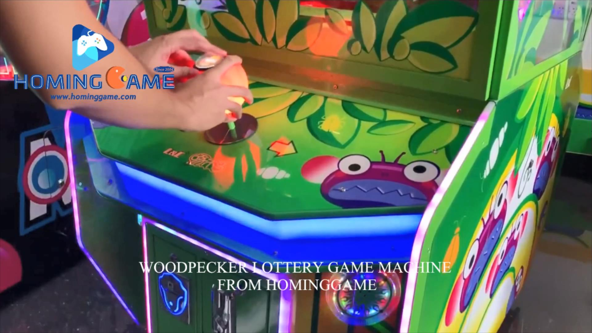 2020 December HomingGame New Released Coin Operated Lottery Game WoodPecker Redemption Game Machine(Order Call Whatsapp:+8618688409495),woodpecker lottery game machine,woodpecker redemption game machine,redemption game machine,lottery game machine,kids game machine,lottery redemption game machine,kids lottery game machine,game machine,arcade game machine,coin operated game machine,indoor game machine,electrical game machine,amsuement park game equipment,game equipment,amusement machine,hominggame,www.gametube.hk