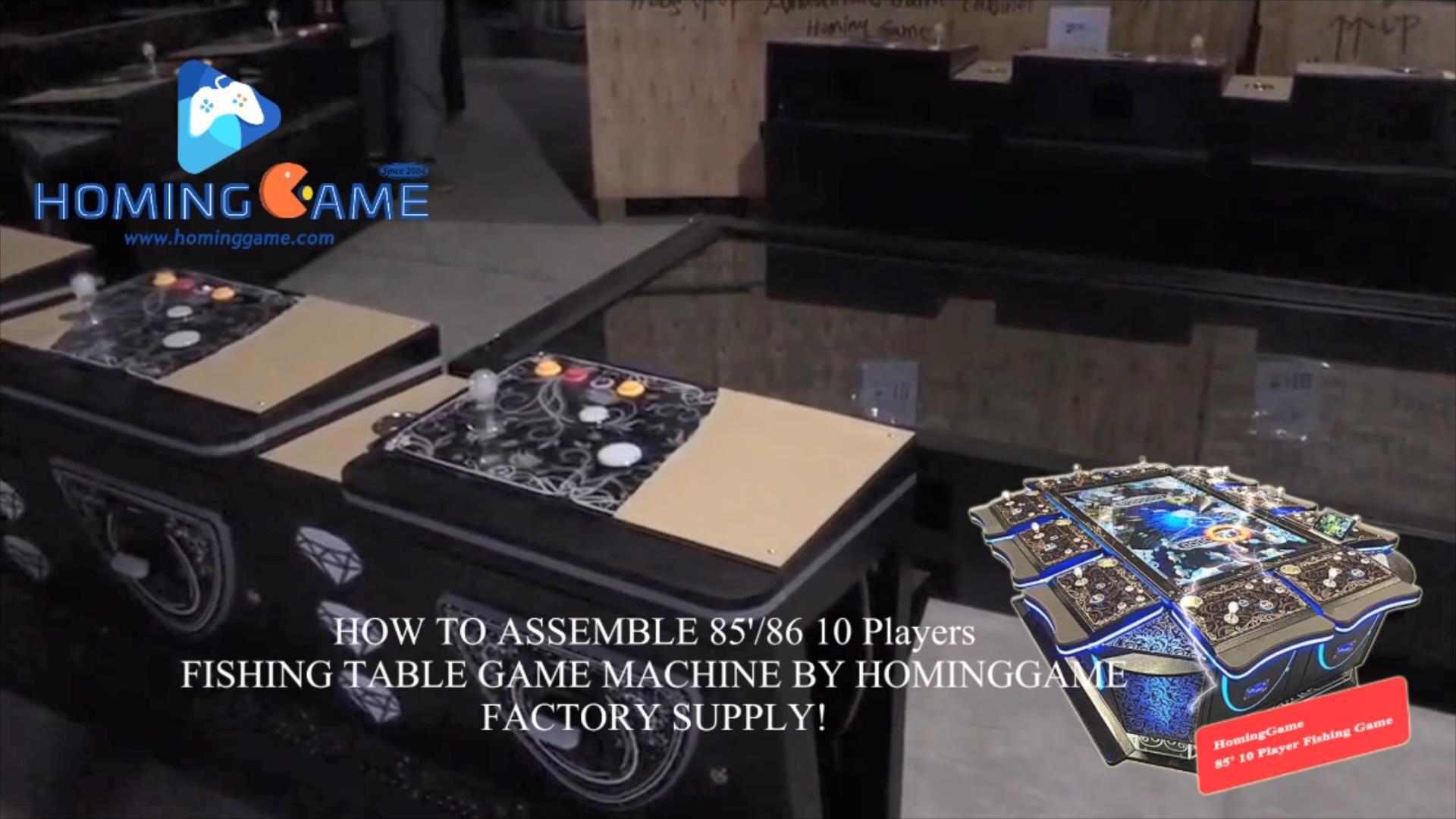 85 10 players fishing table game machine,85
