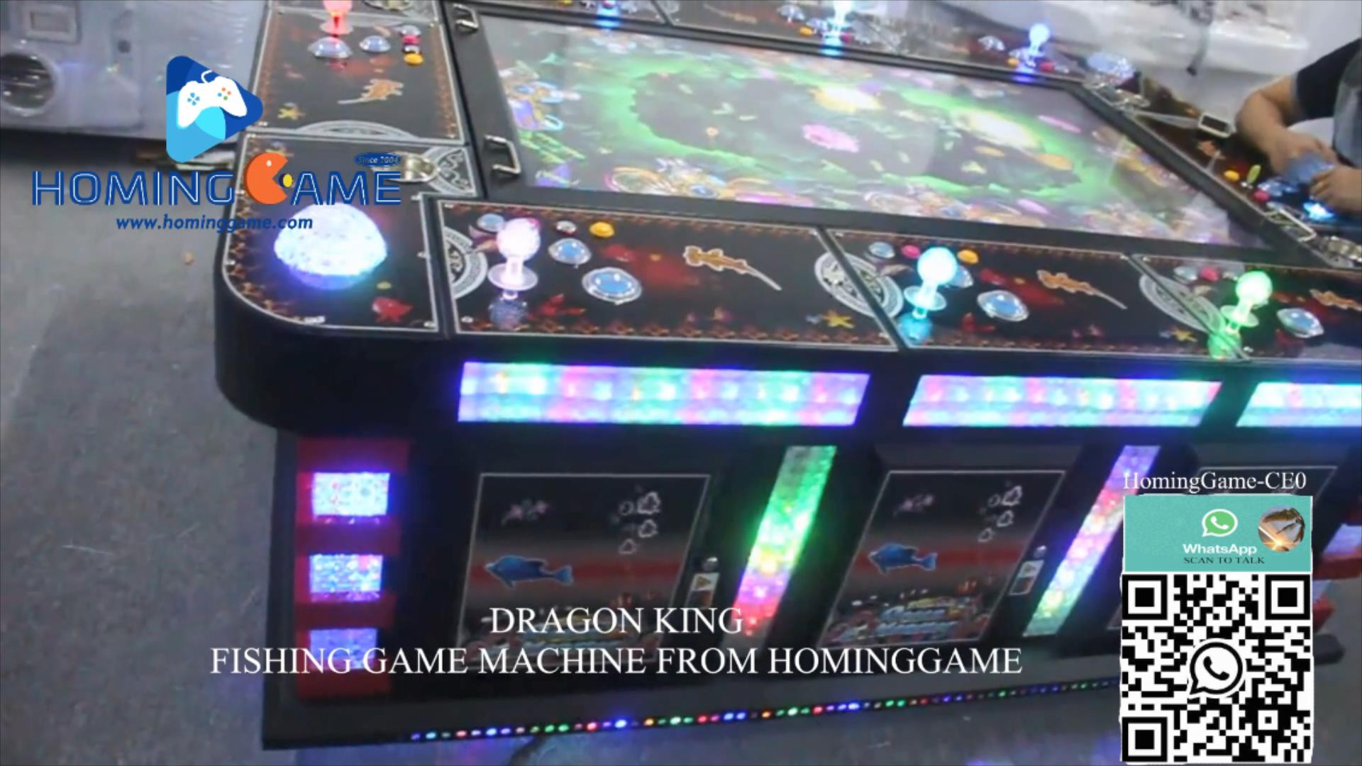 85 large screen 10 player fishing game machine,85